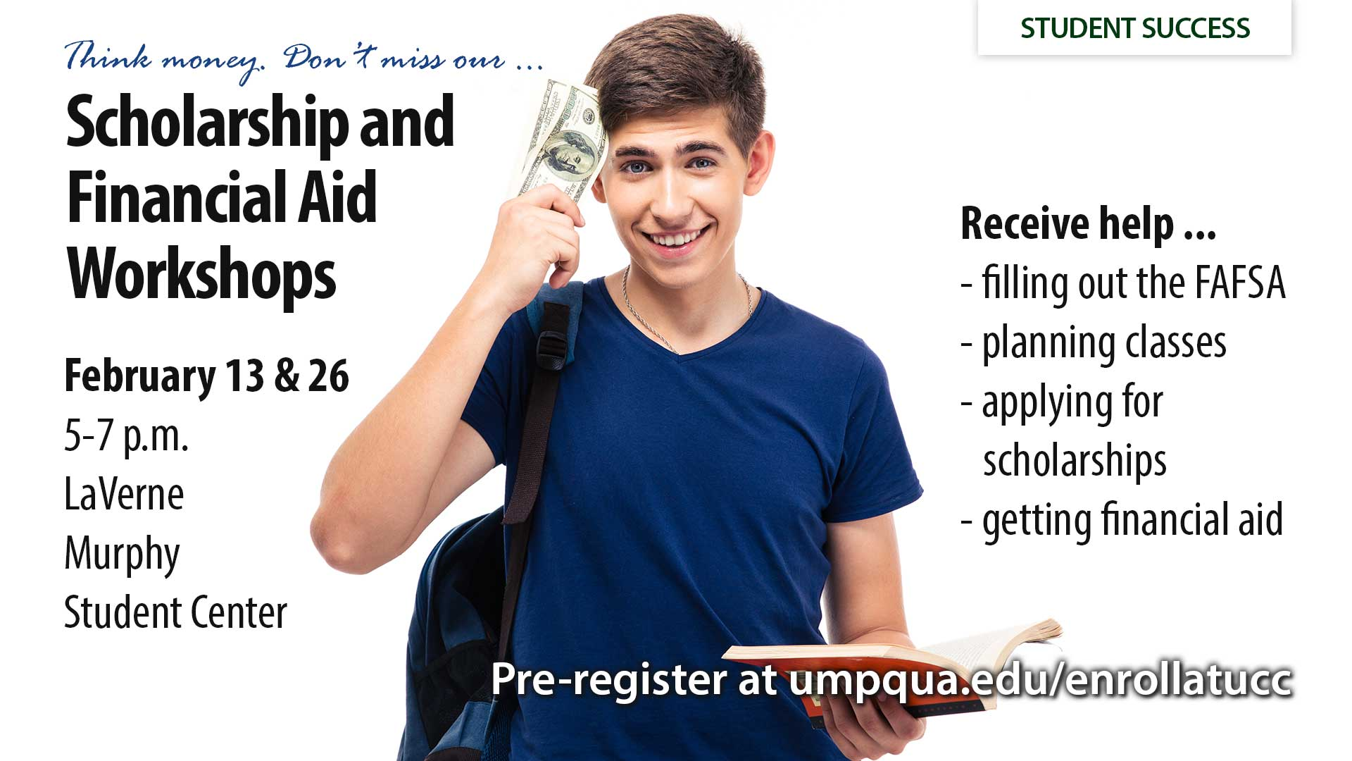 Scholarships and Financial Aid Workshops