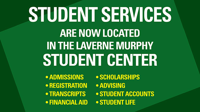 Student Services moves to Student Center