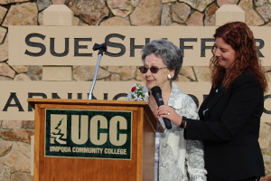 Sue Shaffer Library Naming