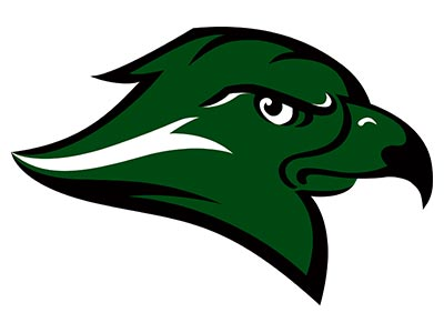 RiverHawks Official Logo Green sm
