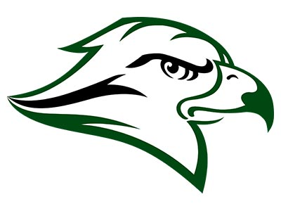 RiverHawks Official Logo White sm