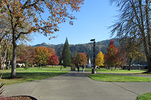 UCC Campus during the Fall