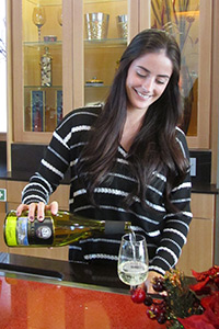 Tayja Owsley, Beverage Captain at Southern Oregon Wine Institute