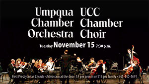 Chamber Orchestra and Chamber Choir Concert