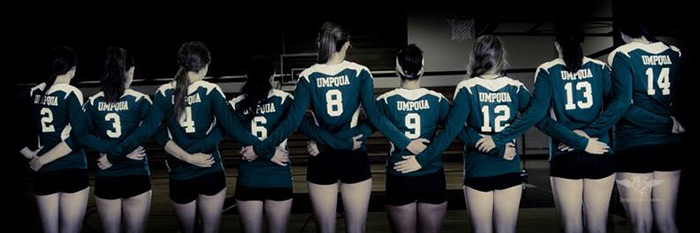 Riverhawks Women's Volleyball Team