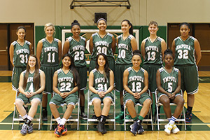 2013 Women's Basketball Team