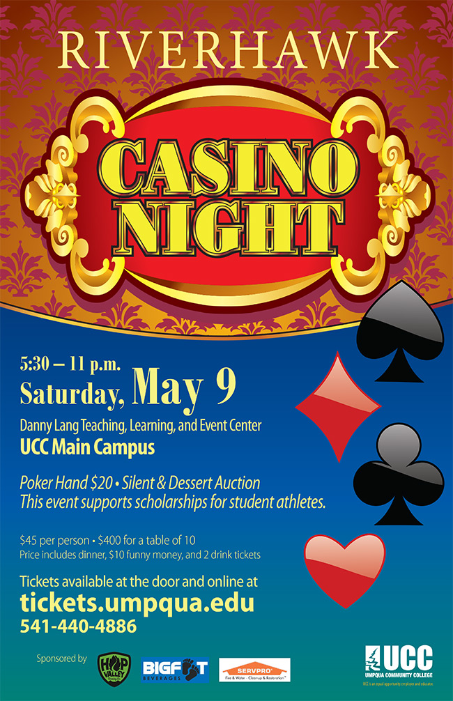 2015 Riverhawks Casino Night