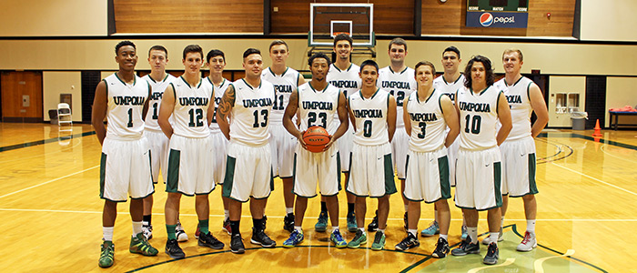 2015-16 UCC Men's Basketball Team