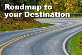 Roadmap to your Destination