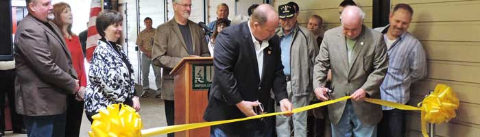 Veteran Center Ribbon Cutting