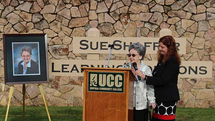 Sue Shaffer Library Dedication