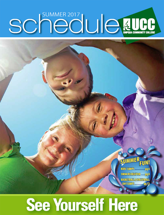 UCC Summer 2017 Schedule cover