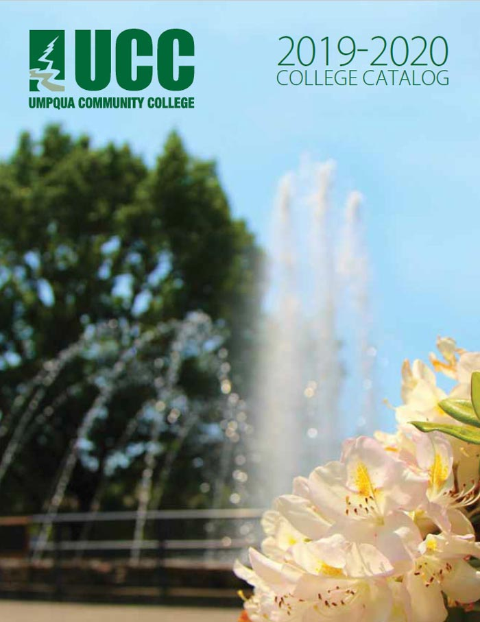 2019-20 UCC College Catalog cover