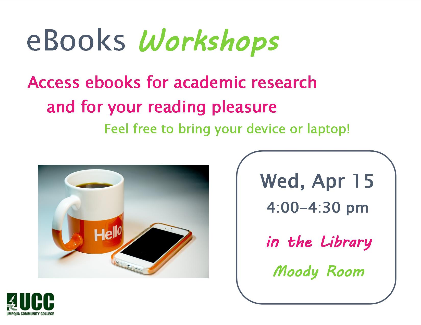 Flyer eBooks Workshop Sp 2015